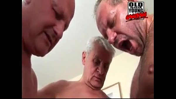 Gangbang old men Old man