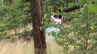 Német tizenéves bevágta az erdőben